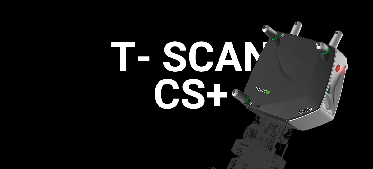 Laser scanner manuale T-SCAN LV