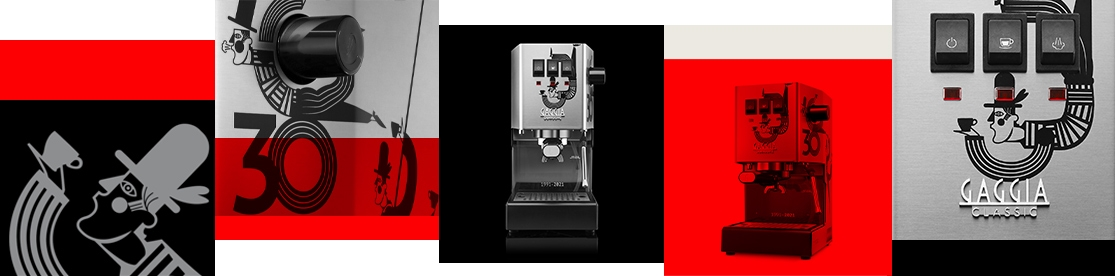 Gaggia Limited Editions kreativa koncept